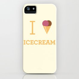 I heart Icecream iPhone Case