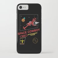 cowboy bebop iPhone & iPod Cases featuring NES Cowboy Bebop by IF ONLY