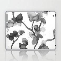 Gray bloom 1 Laptop & iPad Skin