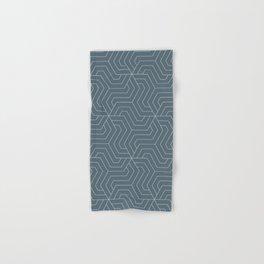 Cadet - grey - Modern Vector Seamless Pattern Hand & Bath Towel