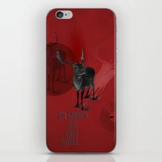 He's very natural iPhone & iPod Skin