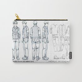 No. 3 Natalie Close character design, pencil/ink Carry-All Pouch