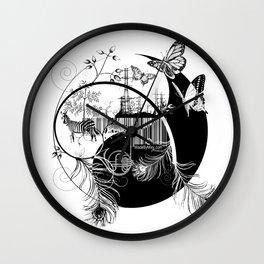counterbalance Wall Clock