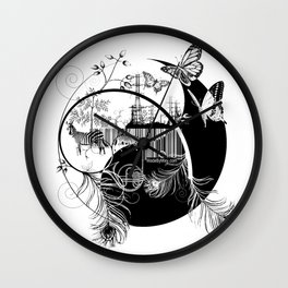 counterbalance Wall Clock
