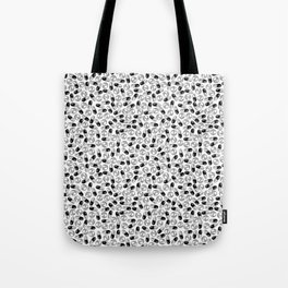 White Medication Pattern - Nurse, Doctor, Pharmacist Tote Bag