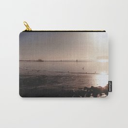 Water on Bay-Film Photograph Carry-All Pouch