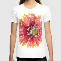 blanket T-shirts featuring Blanket Flower by Regan's World