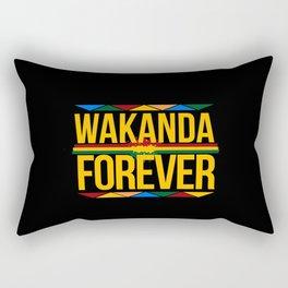 wakanda forever Rectangular Pillow