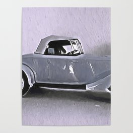 Driving Along In My Automobile Poster