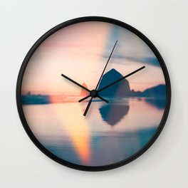 When The Light Leaks In Wall Clock