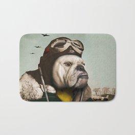"Wing Commander, Benton ""Bulldog"" Bailey of the RAF Bath Mat"