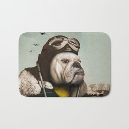 "Wing Commander, Benton ""Bulldog"" Bailey of the RAF Bath Mat"