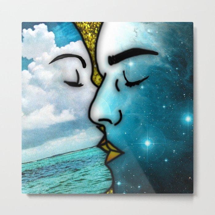 Lover's Kiss Metal Print