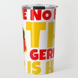 Germany German Berlin Munich No Fear Gift Travel Mug