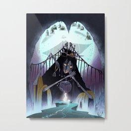 Woj the Gatekeeper Metal Print