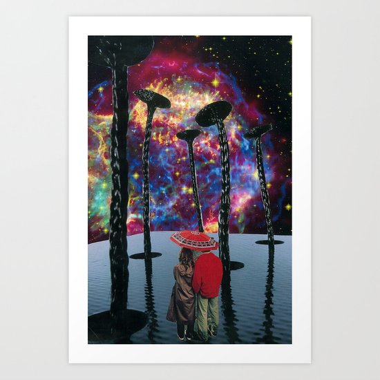 light from a dead star Art Print