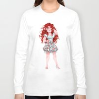 merida Long Sleeve T-shirts featuring Merida  by Kiome-Yasha