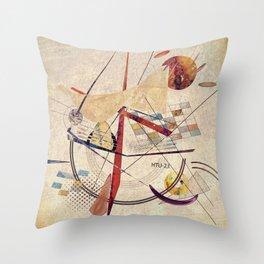 ship to shore - modified Throw Pillow