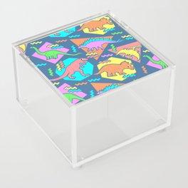 Nineties Dinosaur Pattern Acrylic Box