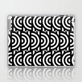 Illusive semicircles Laptop & iPad Skin