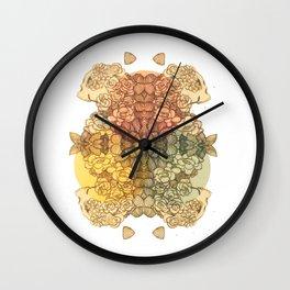 cmyskull Wall Clock