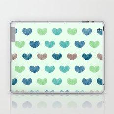 Colorful Cute Hearts V Laptop & iPad Skin
