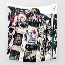 Snowboard Season Wall Tapestry