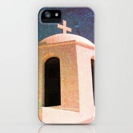 Greek Building Burnt iPhone Case