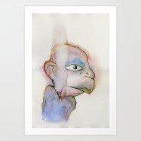 Dude Art Print