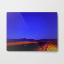 Colors of Night Metal Print