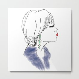 Pucker Up Metal Print
