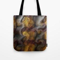 Organic digital background Tote Bag