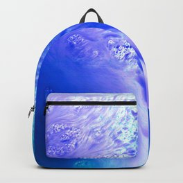 Blue Splash Abstract Backpack