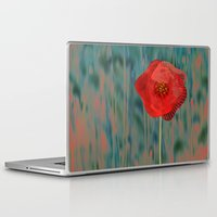 alone Laptop & iPad Skins featuring Alone by Klara Acel