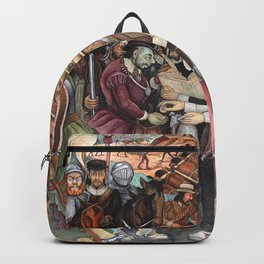 Mural by Diego Rivera Backpack