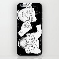 justice iPhone & iPod Skins featuring Justice by SAIMIN
