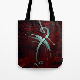 A Tarot of Ink Major Arcana XV The Fallen or The Devil Tote Bag