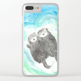 """Made for each """"otter"""" Clear iPhone Case"""