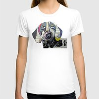 dachshund T-shirts featuring dachshund  by bri.buckley