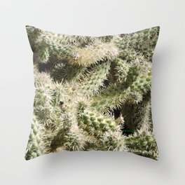 TEXTURES -- Munz's Cholla Throw Pillow