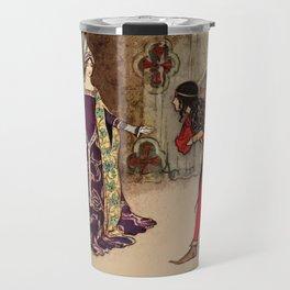 Bowing to the princess Travel Mug