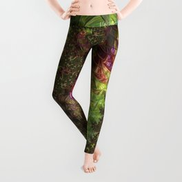 Fractal Spirals Leggings