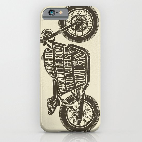 Two wheels move the soul iPhone & iPod Case