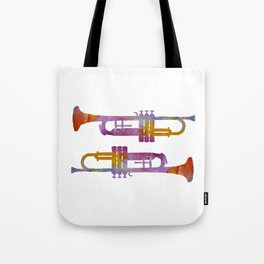 Trumpets Tote Bag
