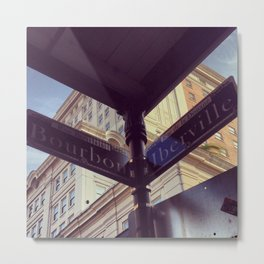 Bourbon - X - Iberville Metal Print