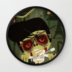 Elvis Zombie Wall Clock