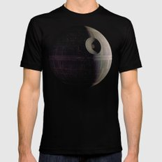 That's no Moon... Mens Fitted Tee X-LARGE Black