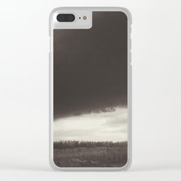 Great storm Clear iPhone Case