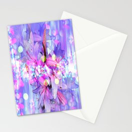 LILY IN LILAC AND LIGHT Stationery Cards