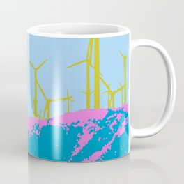 Palm Springs Wind Farm, California Coffee Mug
